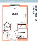 Westbury Studio Floorplan