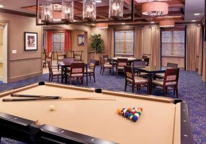 Card and Billiards Room