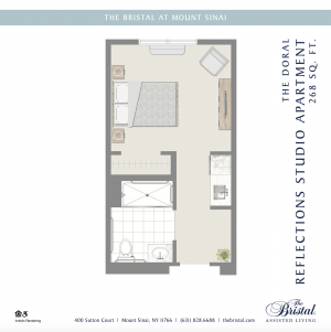 The Doral Reflections Studio Apartment