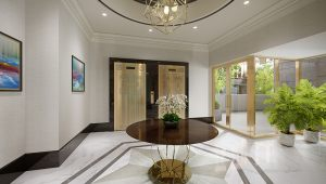 The Bristal at York Avenue Lobby